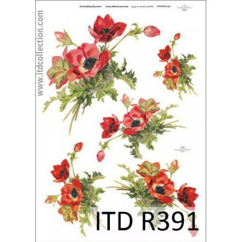 Papier ryżowy decoupage ITD R391