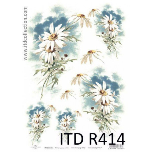 Papier ryżowy decoupage ITD R414