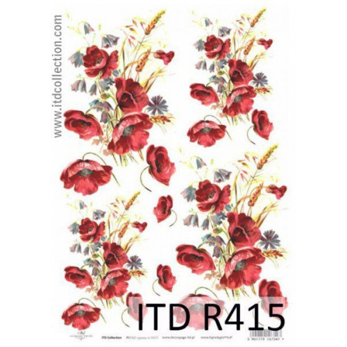 Papier ryżowy decoupage ITD R415