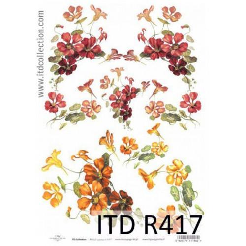 Papier ryżowy decoupage ITD R417