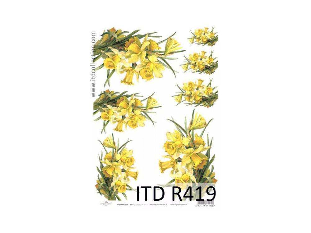 Papier ryżowy decoupage ITD R419
