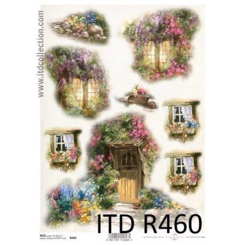 Papier ryżowy decoupage ITD R460