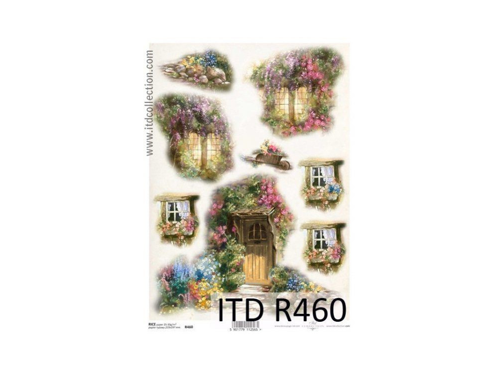 Decoupage Rice Paper ITD R460