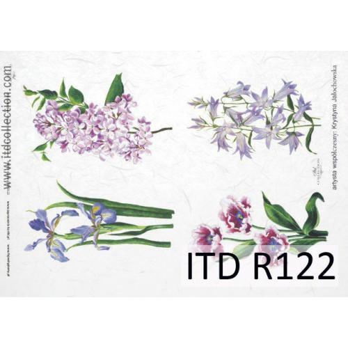 Papier ryżowy decoupage ITD R122