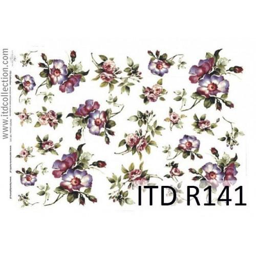 Papier ryżowy decoupage ITD R141
