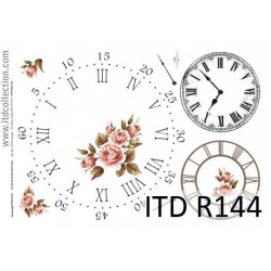 Decoupage paper A4 - ITD Collection - rice, R144