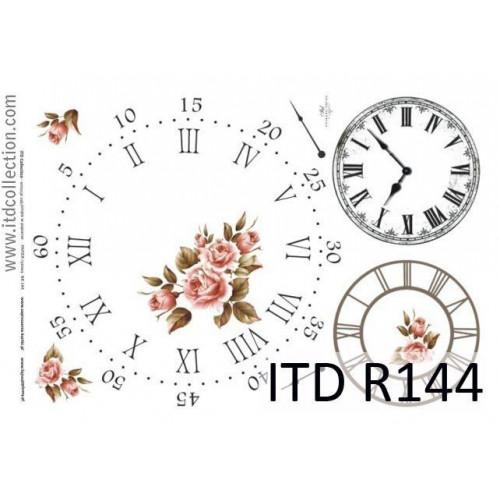 Papier ryżowy decoupage ITD R144