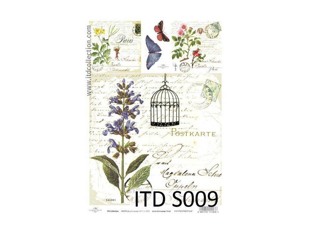 Decoupage Paper Soft ITD S009