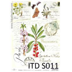 Decoupage Paper Soft ITD S011