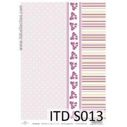 Decoupage Paper Soft ITD S013