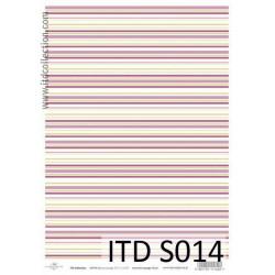 Decoupage Paper Soft ITD S014