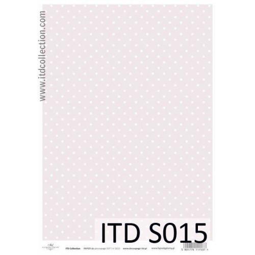 Papier decoupage soft ITD S015