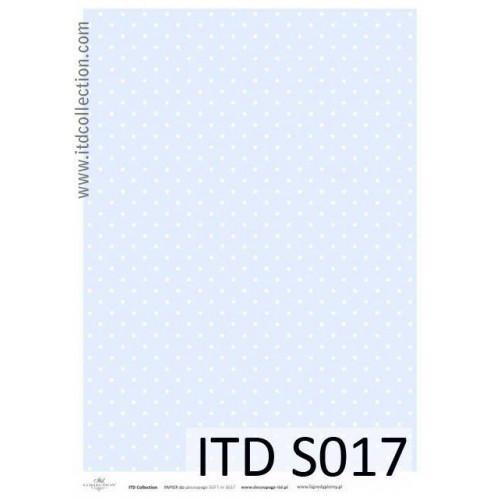 Papier decoupage soft ITD S017