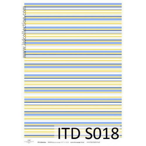 Papier decoupage soft ITD S018