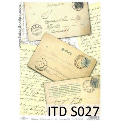Decoupage Paper Soft ITD S027