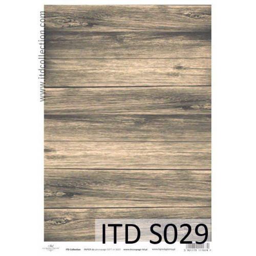 Papier decoupage soft ITD S029