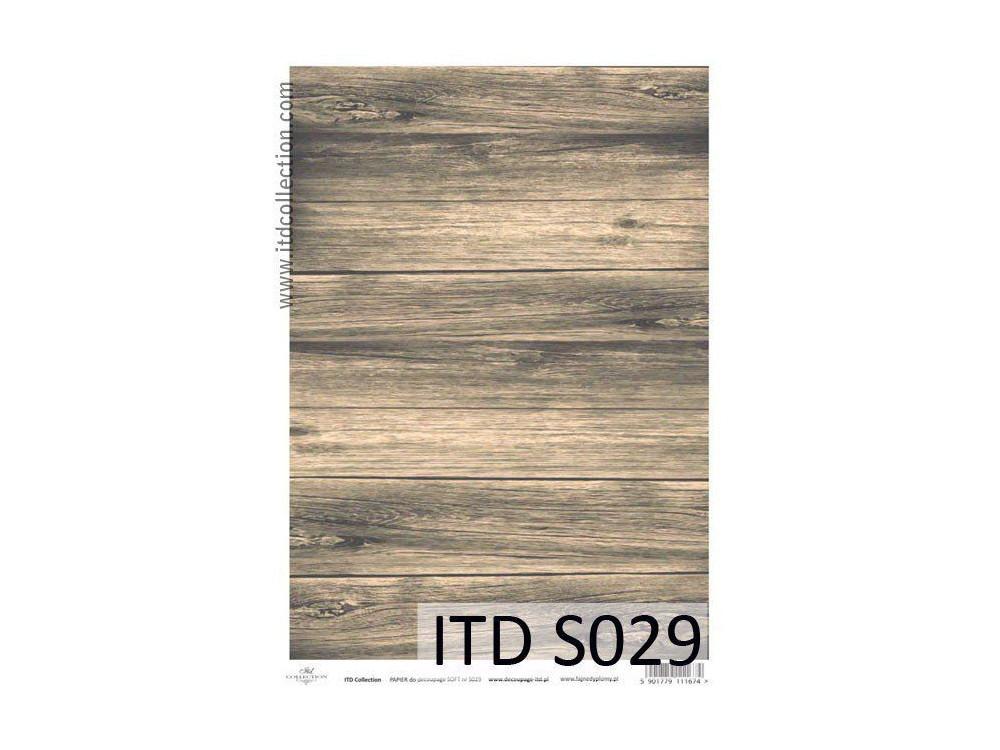 Decoupage Paper Soft ITD S029