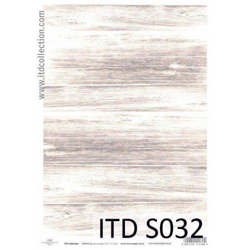 Papier decoupage soft ITD S032