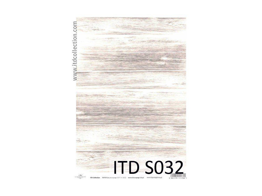 Decoupage Paper Soft ITD S032