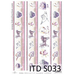 Decoupage Paper Soft ITD S033