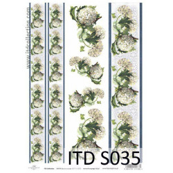 Decoupage Paper Soft ITD S035