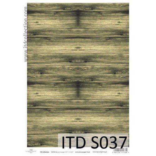 Papier decoupage soft ITD S037