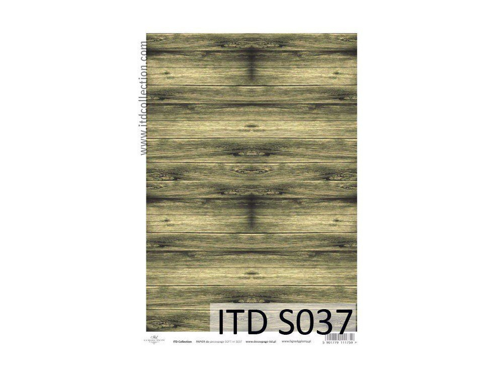 Decoupage Paper Soft ITD S037