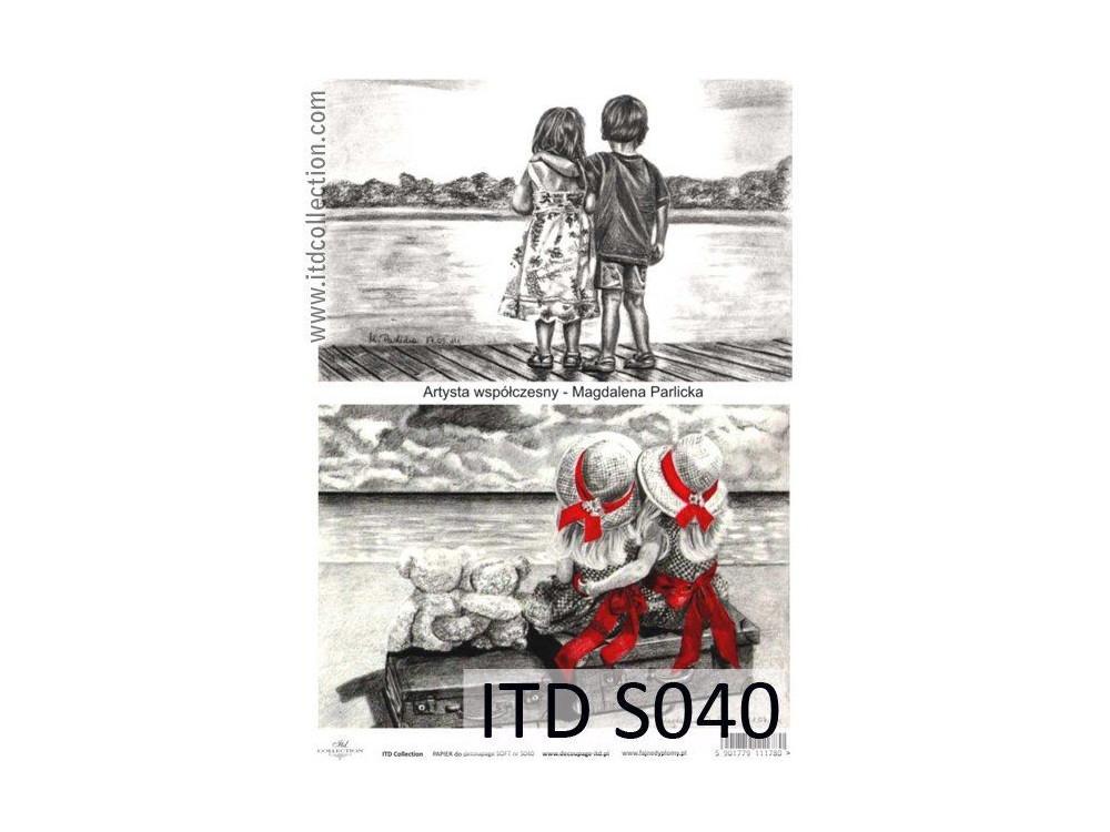 Decoupage Paper Soft ITD S040