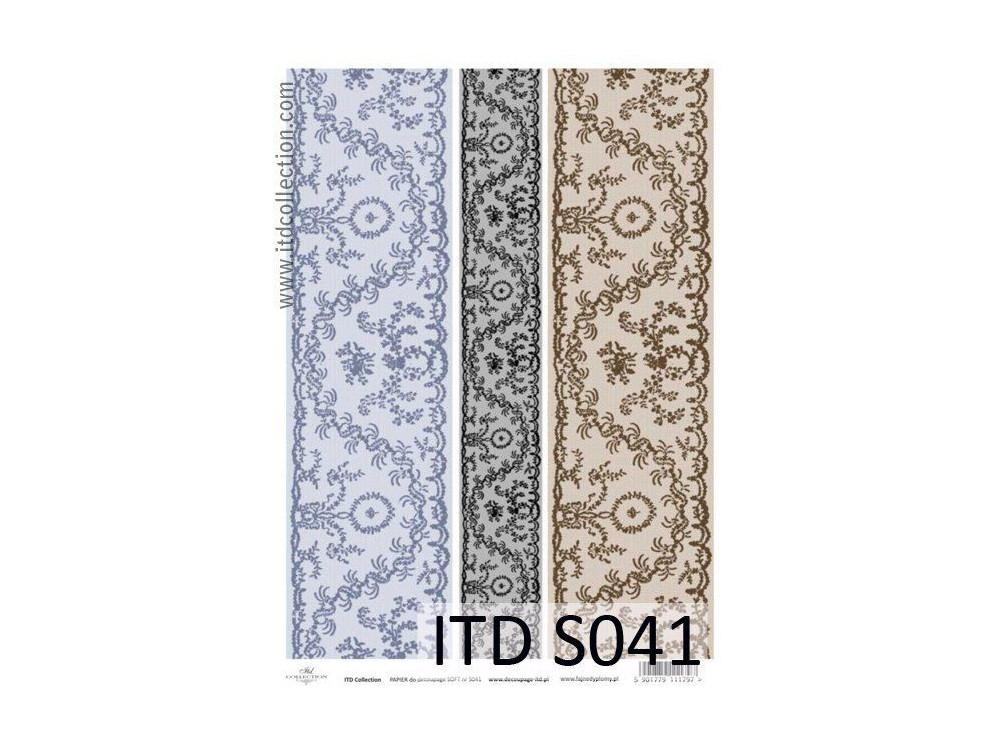 Papier do decoupage A4 - ITD Collection - soft, S041