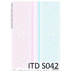 Decoupage Paper Soft ITD S042