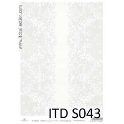 Papier do decoupage A4 - ITD Collection - soft, S043