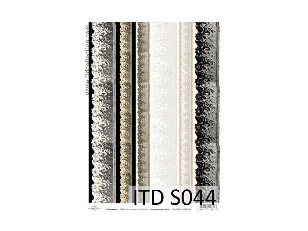 Papier do decoupage A4 - ITD Collection - soft, S044
