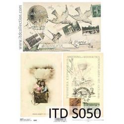 Decoupage Paper Soft ITD S050