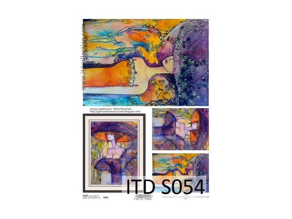 Decoupage Paper Soft ITD S054