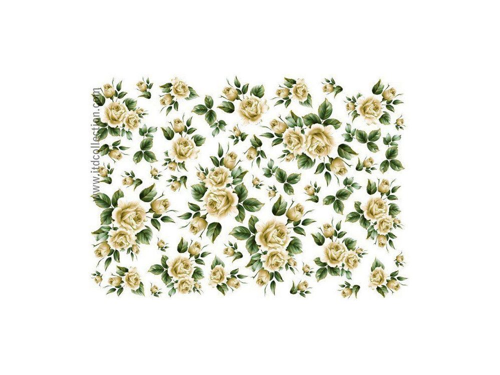 Decoupage paper A4 - ITD Collection - classic, 0110