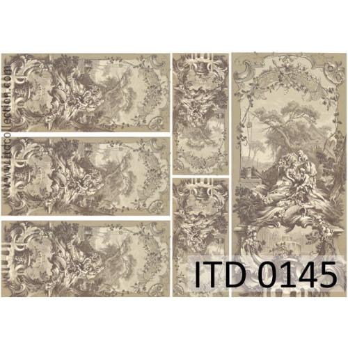 Papier decoupage ITD 0145