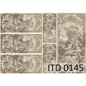 Papier decoupage A4 0145