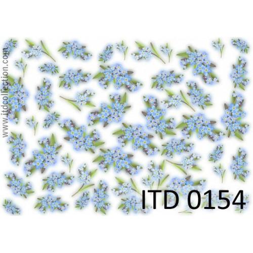 Papier decoupage ITD 0154