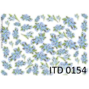 Papier decoupage A4 0154