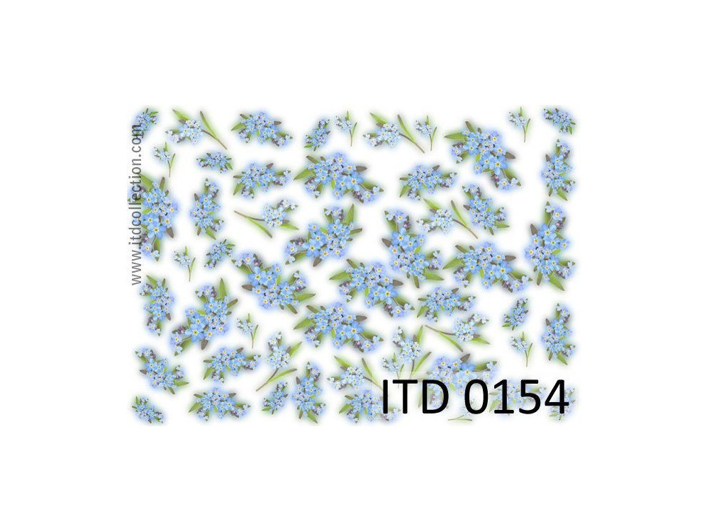 Decoupage paper A4 - ITD Collection - classic, 0154