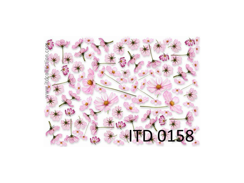 Papier decoupage ITD 0158
