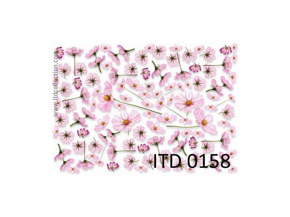 Papier do decoupage A4 - ITD Collection - klasyczny, 0158