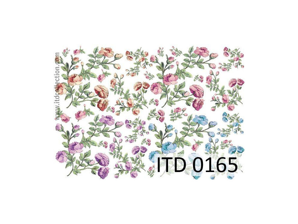 Decoupage paper A4 - ITD Collection - classic, 0165