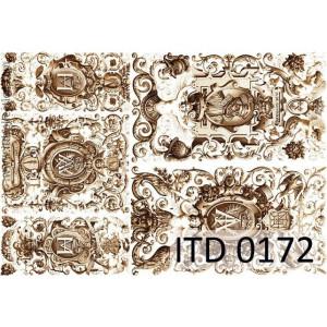 Papier decoupage A4 0172