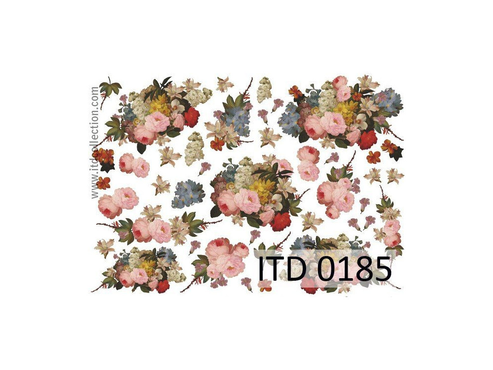 Decoupage paper A4 - ITD Collection - classic, 0185
