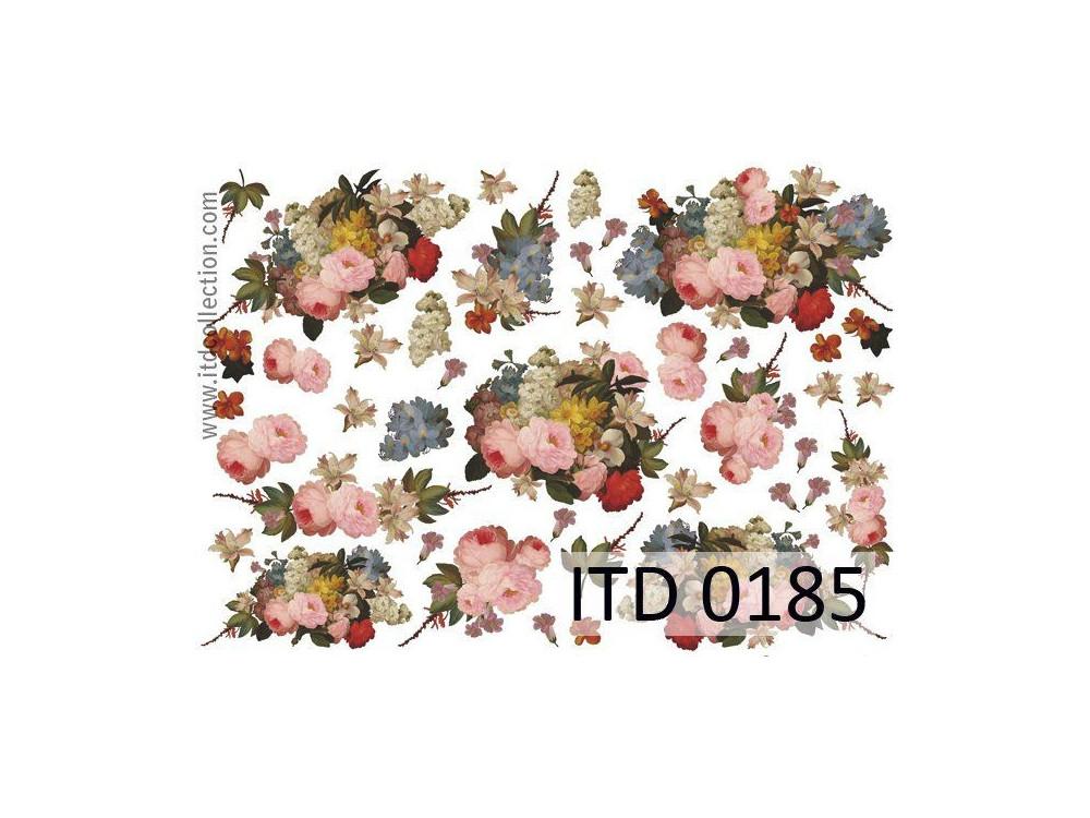 Papier decoupage ITD 0185