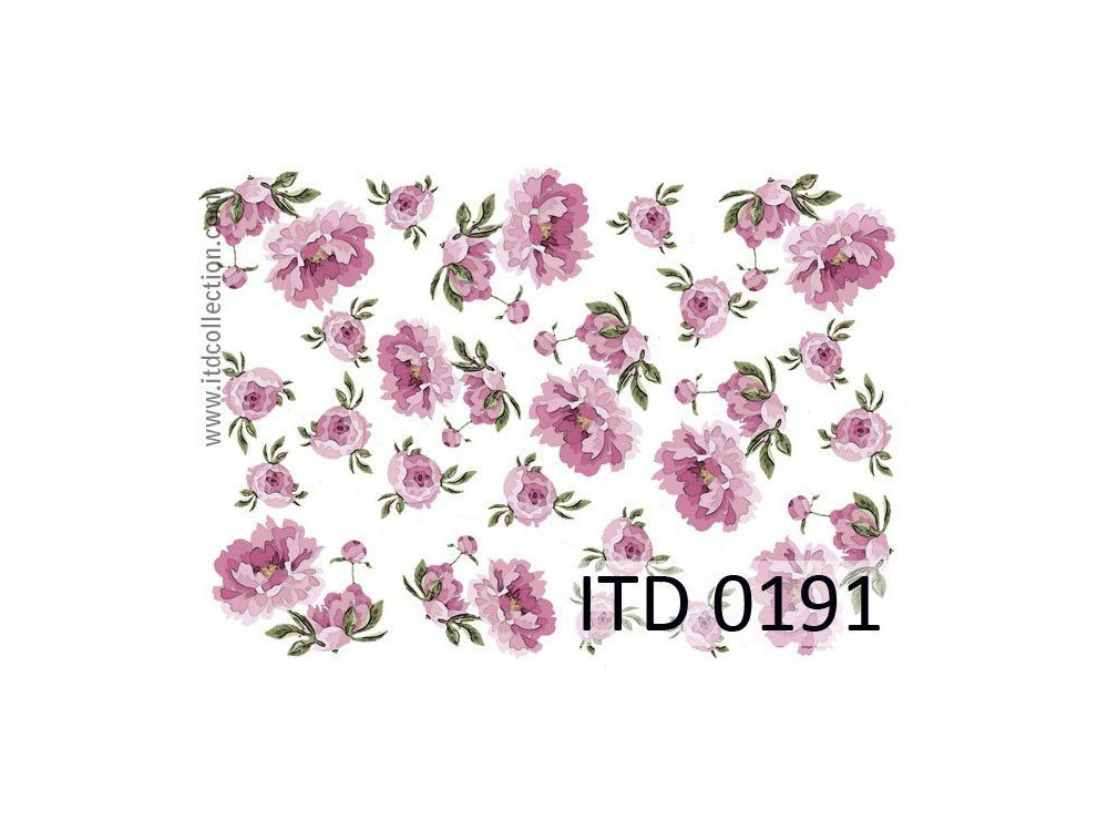 Decoupage paper A4 - ITD Collection - classic, 0191