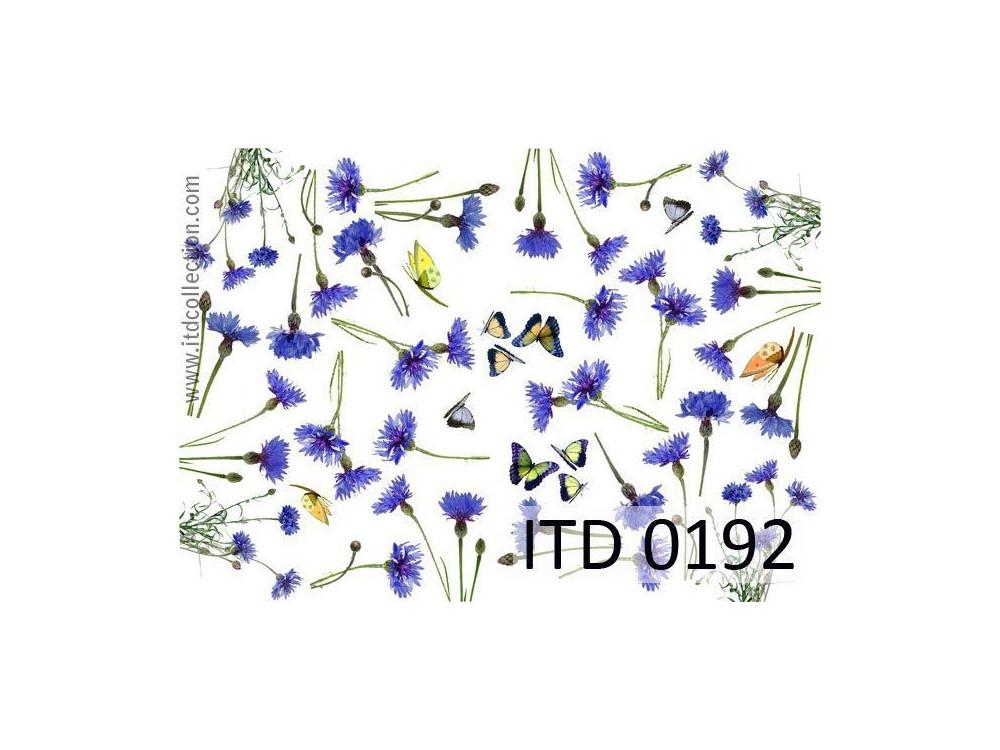 Papier do decoupage A4 - ITD Collection - klasyczny, 0192