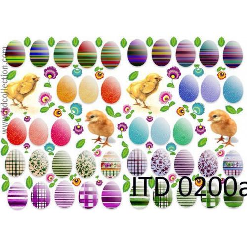 Papier decoupage ITD 0200