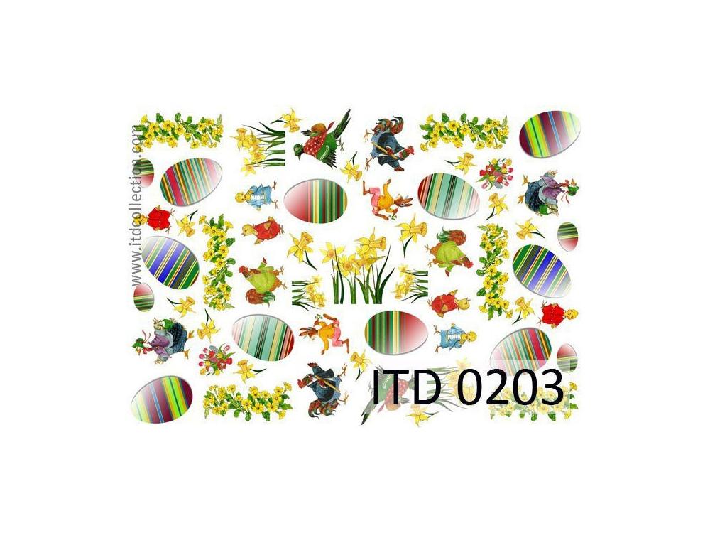 Papier decoupage ITD 0203